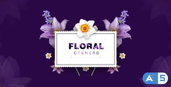 Videohive Floral 8 Opening Footages/ Glamour Wedding Titles/ Flowers and Shapes/ Vintage and Hipster/ Romantic 20248927