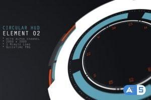 Videohive HUD Element 02 16857048