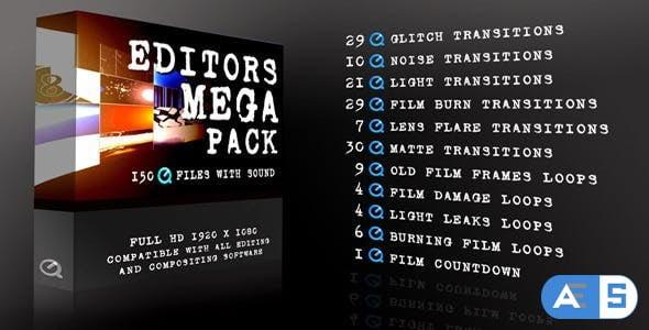 Videohive Editors Mega Pack 4179719