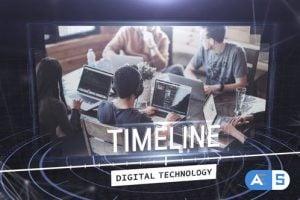 Videohive Digital Techonology Timeline 25846829