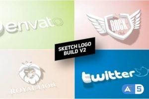 Videohive Sketch Logo Build v2 26403283