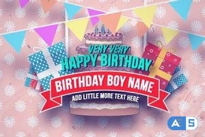 Videohive Happy Birthday Slideshow 18438235