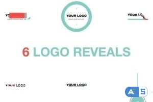 Videohive Logo Reveal Pack Flat Style 8204350