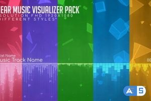 Videohive Linear Music Visualizer Pack 26505265