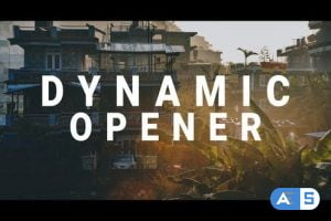 Videohive Dynamic Motion Opener 26486624