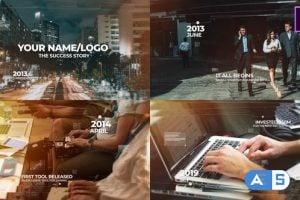 Videohive Modern Timeline Slideshow MOGRT 26261583