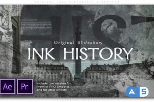 Videohive Original Inks Historical Slideshow 26441031