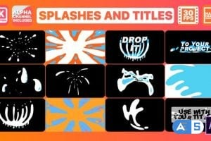 Videohive Splash And Titles   After Effects 26283488