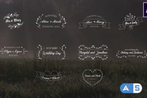 Videohive Wedding Titles | After Effects 26464526