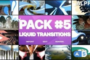 Videohive Liquid Transitions Pack 05   Motion Graphics Pack 23442989