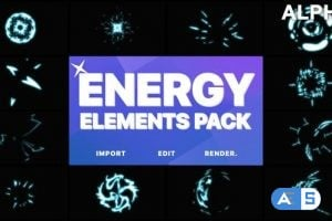 Videohive Energy Elements   Motion Graphics Pack 21506899
