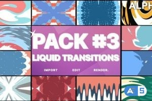 Videohive Liquid Transitions Pack 03   Motion Graphics Pack 23374470