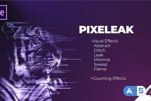 Videohive Pixeleak | Effects Pack 25994195
