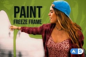 Videohive Paint Freeze Frame 25064836