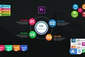 Videohive Infographic Modern Lists-Premiere Pro 26532318