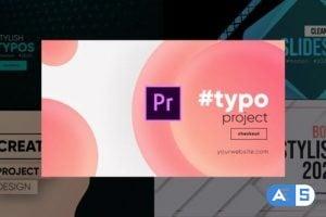 Videohive Unique Typography- Premiere Pro 26245757