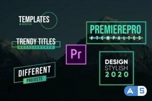 Videohive Modern Titles- Premiere Pro 26209461