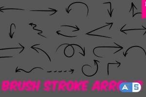Videohive Brush Stroke Arrows 21689620