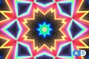 Videohive Rainbow Kaleida 13957154
