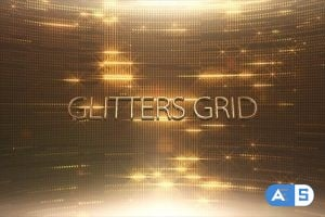 Videohive Glitters Grid Style 5 14062947
