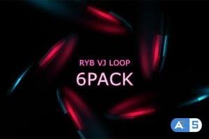 Videohive RYB color VJ Loop Vol.2 15731720