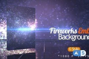 Videohive Fireworks Ember BG 17784053