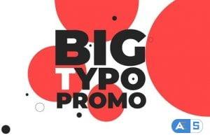 Videohive Big Typo Promo 26505259