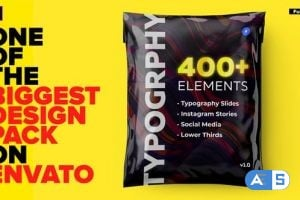 Videohive Typography Design Pack – for Premiere Pro   Essential Graphics 26308150