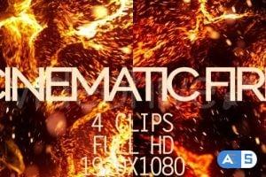 Videohive Cinematic Fire 19293462