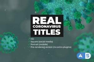 Videohive Real Coronavirus Titles 26182866