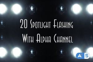 Videohive Spotlight Flashing (20-Pack) 8409295