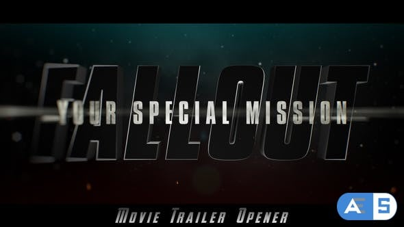 Videohive Fallout Epic Trailer Opener 22404340