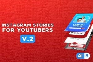 Videohive Instagram Stories For YouTubers v.2 26400328