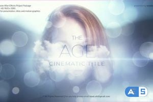 Videohive The Age Cinematic Title 26331365