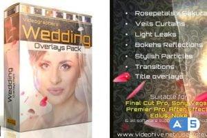 Videohive Wedding Overlays Pack 21713069