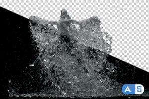 Videohive Water Splash Dance 14464510