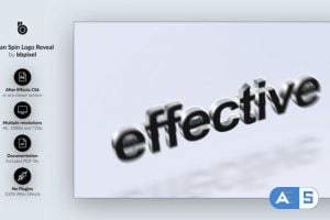 Videohive Clean Spin Logo Reveal 25567242