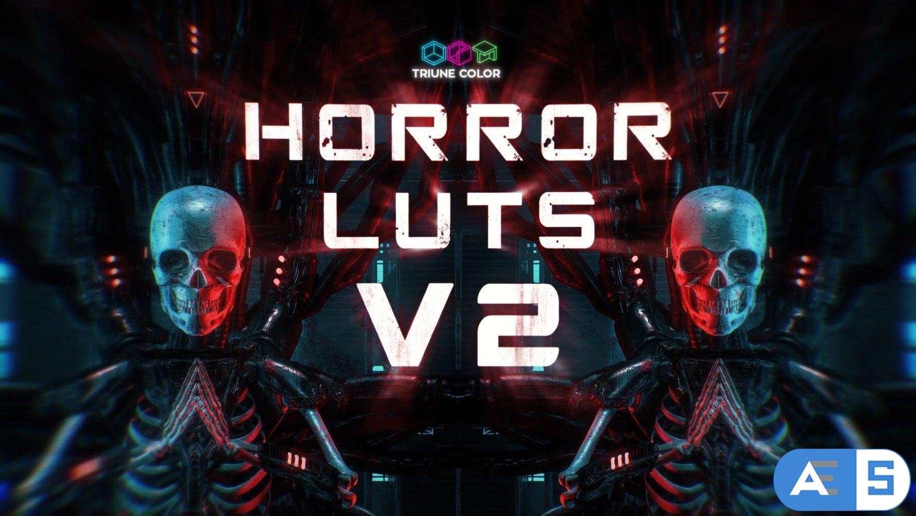 Horror LUTs V2 – Triune Digital