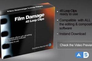 Videohive Film Scratches 1078737