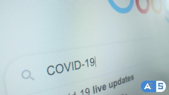 Videohive Corona Virus Search 26058029