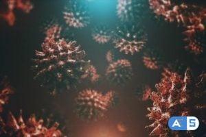 Videohive New Dangerous Virus Background 4K 26342092