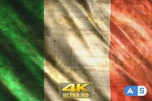 Videohive Italy Flag Grunge 26342464