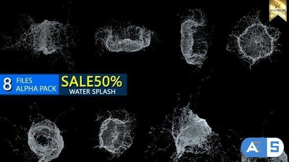 Videohive Water Splash 26316650