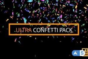 Videohive Confetti Ultra Pack 25697999