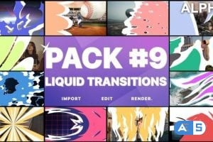 Videohive Liquid Transitions Pack 09   Motion Graphics Pack 26077991