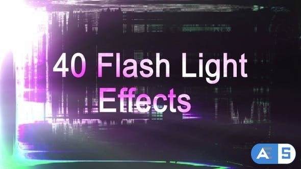 Videohive Light Flash Transitions Overlay Package 23646666