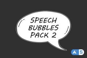 Videohive Speech Bubbles Pack 2 23931773