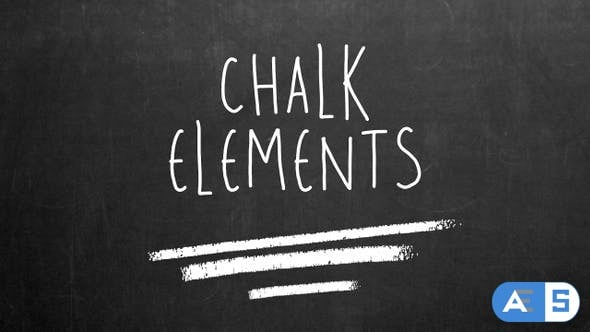 Videohive Chalk Elements 24581249