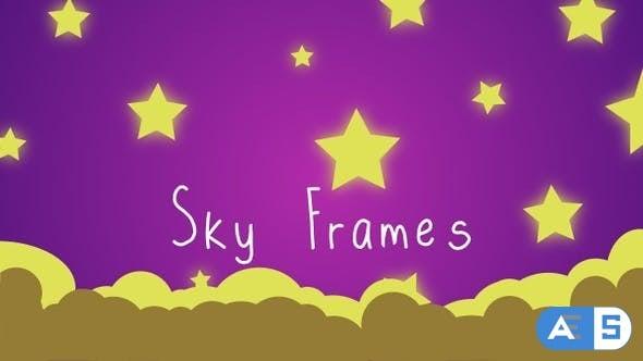 Videohive Sky Frames 24939205