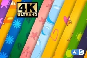 Videohive Cartoon Background Pack 3 25500491